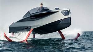 Foiler Quotflying Yachtquot Is A Sleek Hybrid Powered Hydrofoil