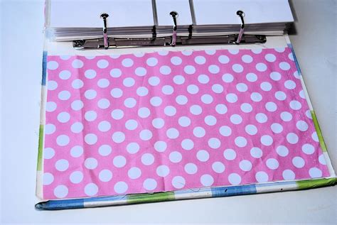 Fabric Covered Notebook Or Binder