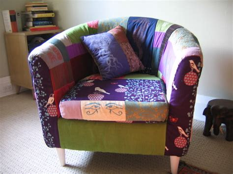 Free Chair Re-upholstered For A New Life