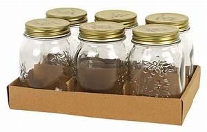 Deckel Für Einmachgläser : 6er set einmachgl ser gl ser glas marmeladenglas mit ~ Whattoseeinmadrid.com Haus und Dekorationen