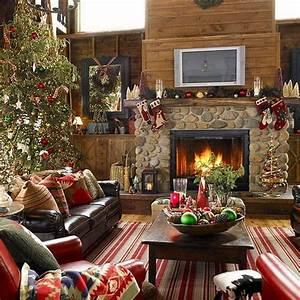 35, lovely, christmas, living, room, decor, ideas