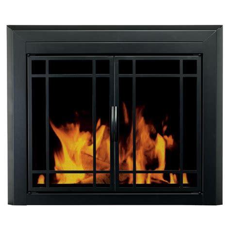 black cabinet with doors shop pleasant hearth easton black medium cabinet style