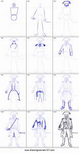 How To Draw Captain James Cook From Assassinu002639s Creed