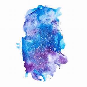 How To Paint The Galaxy With Watercolors Blitsy
