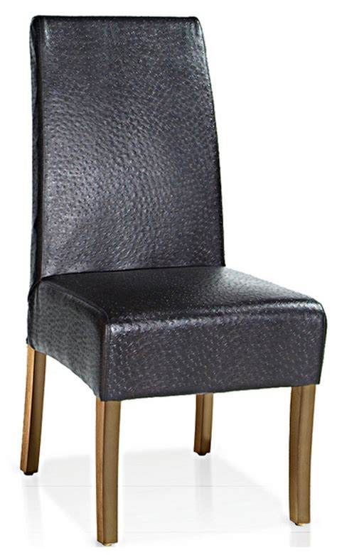 Ostrich Chair Canada by Kr 0200 Ostrich Leather Dining Chair