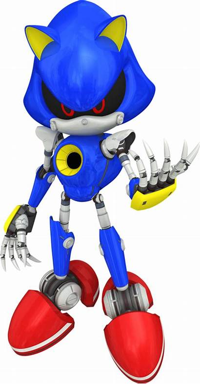 Eggman Sonic Robot Metal Amy Seria Pense