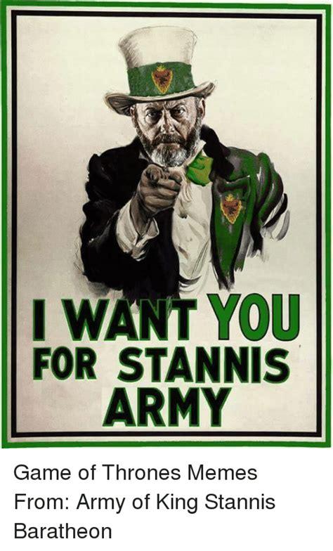 Stannis Baratheon Memes - 25 best memes about game of thrones army meme and memes game of thrones army meme and memes