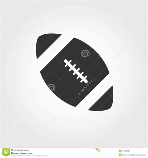 american football vector black and white american football design royalty free illustration