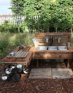 Creating a mud kitchen for your outdoor area - Early Years