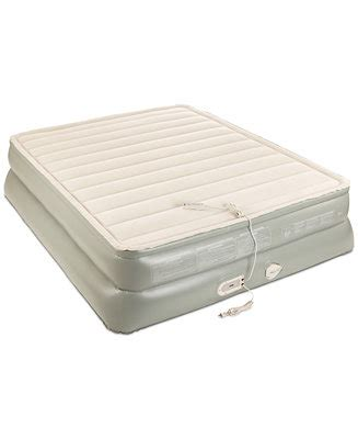 aerobed premier 3 layer 20 quot queen air mattress with built