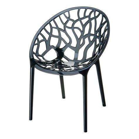 chaise de jardin design chaise design en polycarbonate 4 pieds