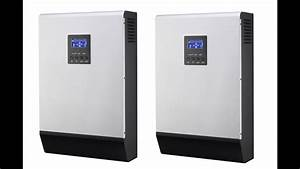 Mpp Solar Inverter Charger Pip 4048ms  Installing The