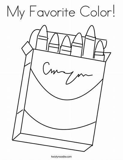 Coloring Favorite Box Crayons Built California Usa