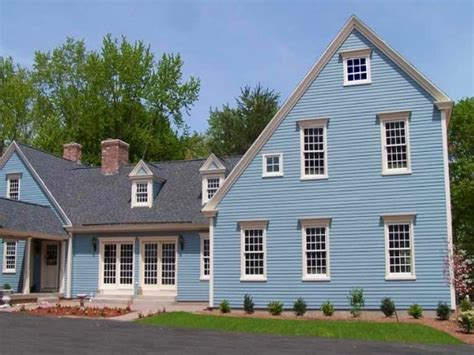 colonial exterior paint colors house style and plans