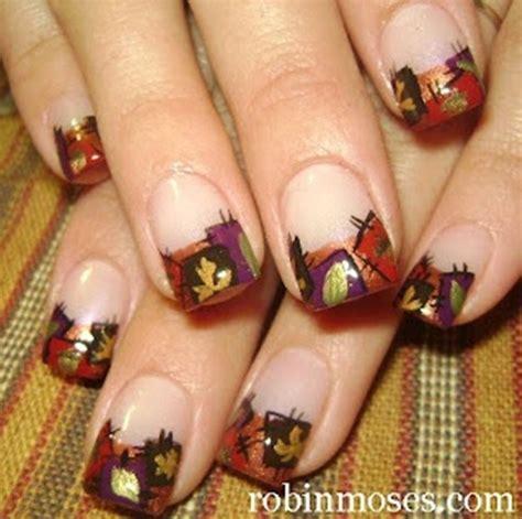 autumn nail designs how to do autumn leaves nail 30 exles