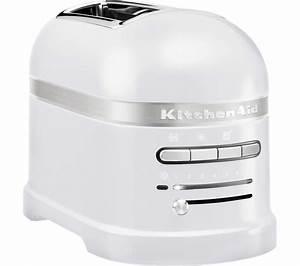 Kitchen Aid Toaster : buy kitchenaid artisan 5kmt2204bfp 2 slice toaster frosted pearl free delivery currys ~ Yasmunasinghe.com Haus und Dekorationen