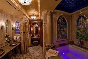 Cinderella39s castle suite bathroom disney pinterest for Bathrooms in castles