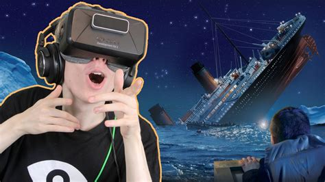 titanic sinking simulator titanic sinking simulator in vr fall of the titanic