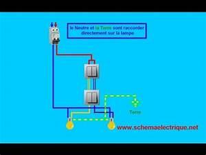 Double Va Et Vient : schema branchement cablage interrupteur double va et vient ~ Nature-et-papiers.com Idées de Décoration