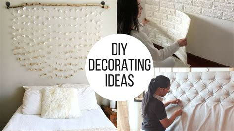 2018 Diy Creative Bedroom Decorating Ideas Youtube