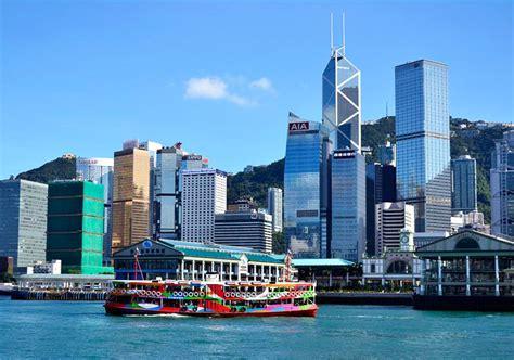 Victoria Harbour Hong Kong Map