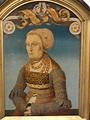 1525 Markgräfin Elisabeth von Baden by Hans Wertinger ...