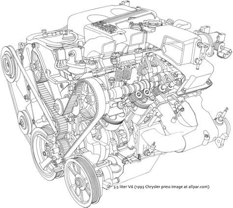 Chrysler/Dodge 3.5 liter V6 engines