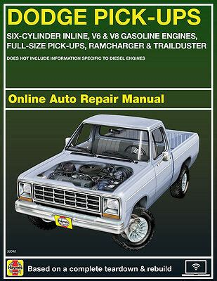 service manual car manuals free online 1993 dodge d250 engine control 1993 dodge ram truck 1993 dodge w250 haynes online repair manual select access ebay