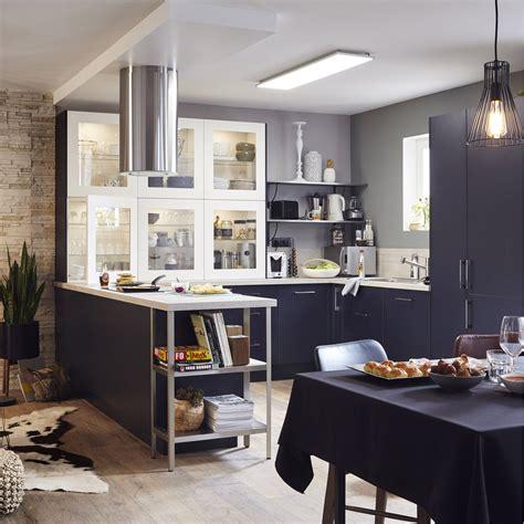 meuble cuisine delinia davaus facade meuble cuisine bleu avec des idées