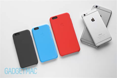 iphone 6 cases apple apple iphone 6 6 plus silicone review gadgetmac