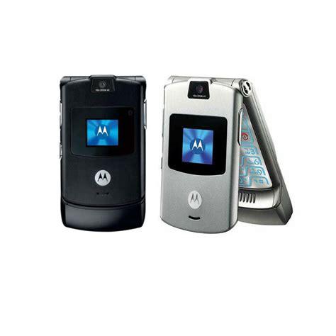 V3 Mobile Phone by 100 Unlocked Motorola Razr V3 Flip Mobile Phone Gsm