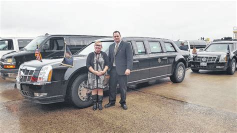 the presidential limo otherwise known mt airy news surry residents drive in presidential