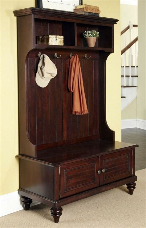 Foyer Coat Rack by Tree Storage Bench Entryway Coat Rack Stand Antique