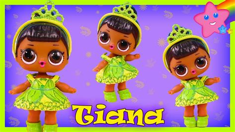 Diy Princess Tiana Custom Lol Surprise Doll