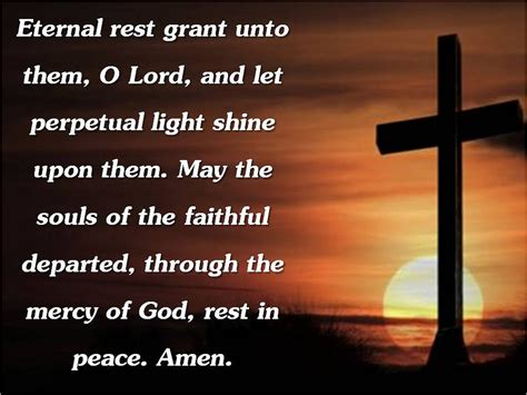 Image result for eternal rest grant unto them
