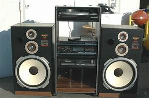Vintage Fisher Home Stereo System Rack Cd Turntable