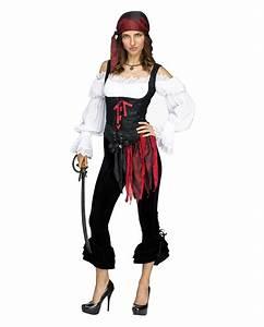 Pirate Costume Pants Black for Halloween | horror-shop.com