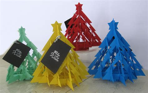 handmade 3d christmas tree cards are back chewingonit s