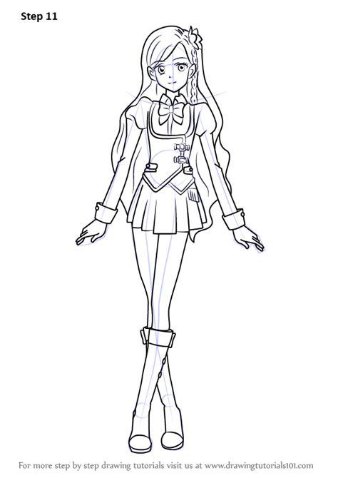 learn   draw sora kazesawa  aikatsu aikatsu