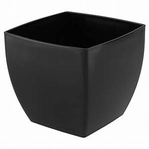 Cache Pot Noir : cache pot en plastique siena 14cm noir rona ~ Teatrodelosmanantiales.com Idées de Décoration
