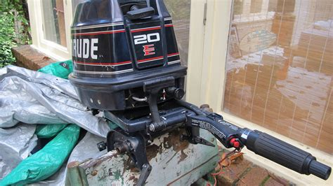 Outboard Motors For Sale Geelong by 20hp Evinrude Outboard Engine For Sale Or Nsw