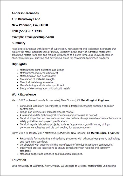 materials engineer sle resume haadyaooverbayresort