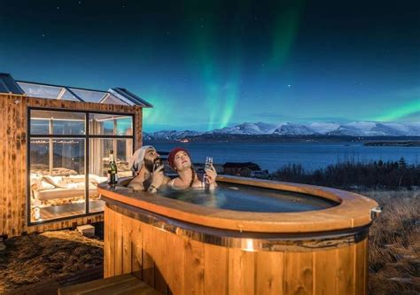 Iceland's Panorama Glass Lodge Lets You Doze Off Under