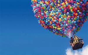 Balloons House cool desktop wallpapers