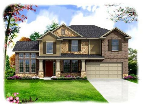 elevation   house plans  home communities austin homes