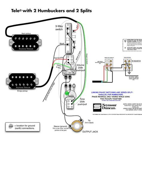 Humbucker Wire Diagram by Wiring Diagrams Dimarzio And Humbucker Diagram