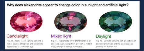 color changing gemstones gemstones that change color in different light