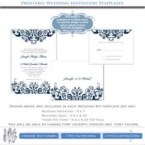 cost of wedding programs create your wedding invitations printable blue templates