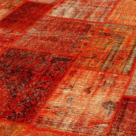 Teppich Orange  Haus Ideen