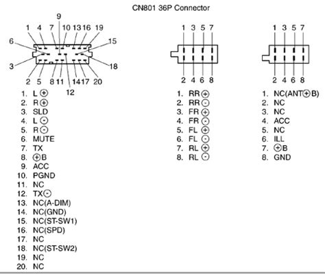 fujitsu ten car audio wiring diagram html autos post